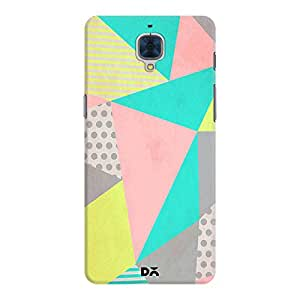 DailyObjects Geometric Pastel Mobile Case For Oneplus 3