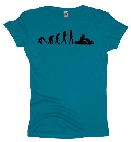 Ma2ca - Evolution - Gokart Girlie T-Shirt Azure