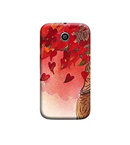 EPICCASE Premium Printed Mobile Back Case Cover With Full protection For Motorola Moto E (Designer Case)
