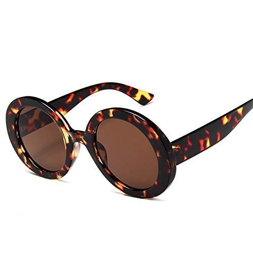 Yangjing-hl SonnenbrilleDamen Retro Spiegel SonnenbrilleOversize Sonnenbrille Bling Sonnenbrille Lady Eyewear