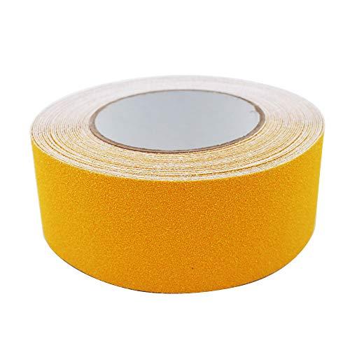 ARTGEAR Premium Qualität Antirutsch Klebeband, Antislip selbstklebend Band, Grip Tape Sicherheitsband fur Treppen/Schritte (10m × 5cm, Gelb)