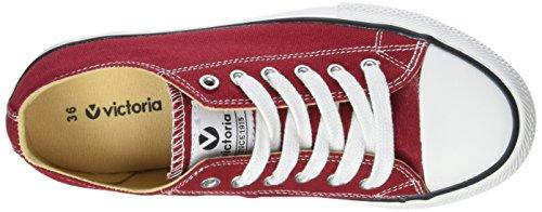 victoria Unisex-Erwachsene Zapato Autoclave Flach Rose (Carmín)