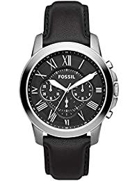 Fossil Grant Chronograph Black Dial Men's Watch - FS4812