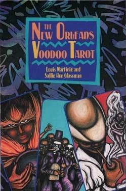 AzureGreen Tarot Karten Kunstwerke New Orleans Voodoo von martinie und Glassman