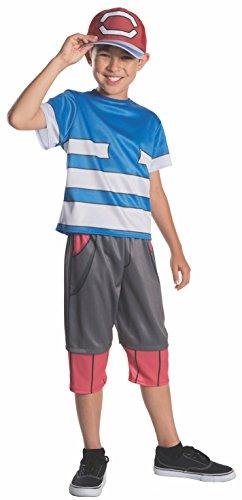 Pokemon Master Ash Child Costume - ()