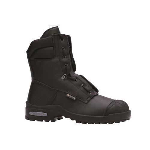 BASE stivali di sicurezza S3 CI SRC nero, cuoio fiore