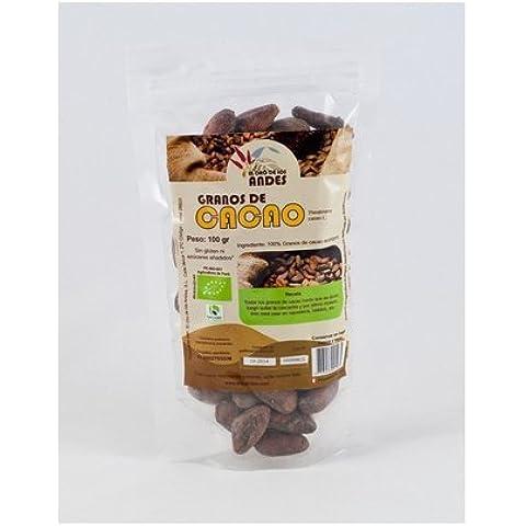 Cacao Grano Trozos 200 Gr de El Oro De Los Andes