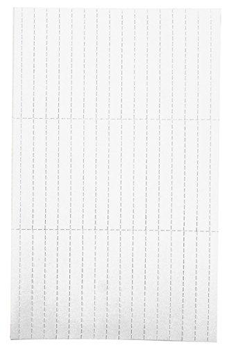 Legamaster 7-455119 Einlegeetiketten für Legamaster Etikettenträger, perforiert, 225 Stück, 10 x 60 mm, weiß