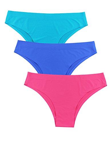 Bragas Bikini Mujer 3 Pack Negro, usado segunda mano  Se entrega en toda España