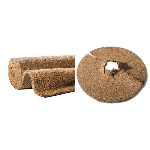 Kokosmulchscheibe Kälteschutz für