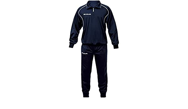 40276292ccf Givova - Survetement TUTA CIPRO Bleu Marine Taille - XXS  Amazon.co.uk   Sports   Outdoors