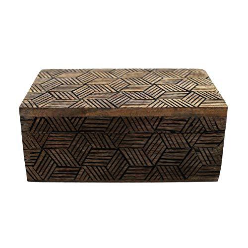Gall&Zick Holzbox, Holzkiste mit Deckel, Dekobox, Handarbeit,