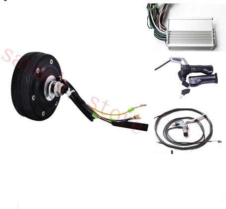 4pulgadas 150W 36V y scooter eje de la rueda del motor Motor eléctrico de la bicicleta Motor eléctrico del eje de la silla de ruedas