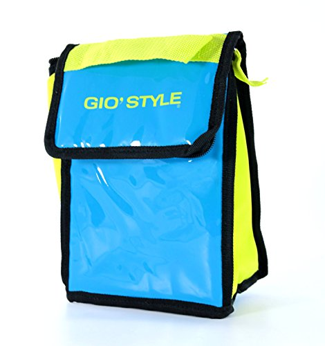 GioStyle Lime-Ausgaben, PVC Lunch Bag Thermo, grün, 11x16 cm