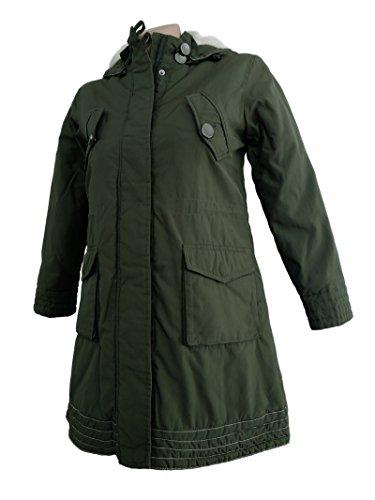 Geox Mädchen Jacke Kinderjacke Mantel Atmungsaktiv Olivengrün (4 Jahre)
