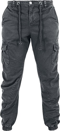 Urban Classics Stretch Cargo Jogging Pants Pantaloni jogging grigio scuro M