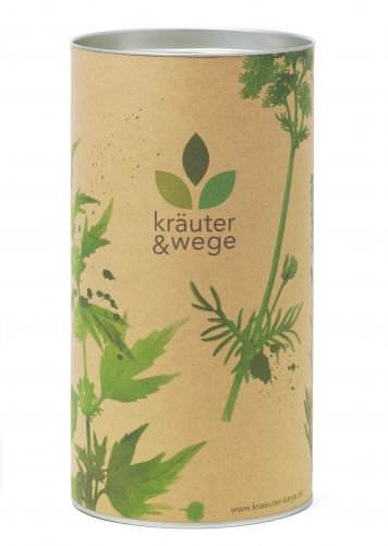Teevorratsdose Teedose Kaffeedose groß | Pappe mit Aromaschutz und Metalldeckel | Höhe 23 cm,...