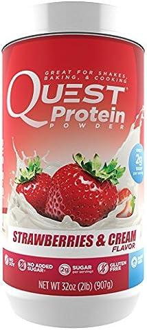Quest Protéine Powder Complément Alimentaire Fraises/Crème 907 g