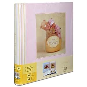 Album Photo Crèche Nursery Room Rose 100 pages