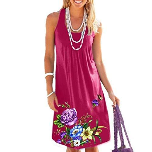 UFACE Damen Sommer Boho Kleid Damen Sexy Damen Kurz Damen Sommer Jersey Kleid Kleid Damen Winter Lang Kleid Gelb Langarm