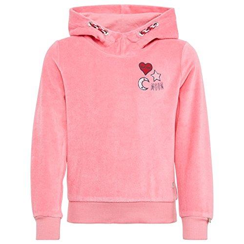 TOM TAILOR für Babies, für Mädchen Strick & Sweatshirts Hoodie mit Artwork Sunrise Pink, 116/122