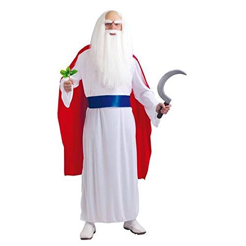 Druide Miraculix Kostüm - Größe M / L - - Miraculix Kostüm