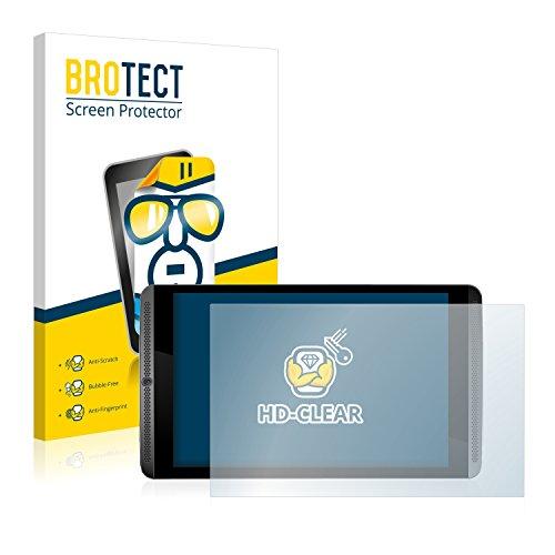BROTECT Schutzfolie kompatibel mit Nvidia Shield K1 [2er Pack] klare Bildschirmschutz-Folie