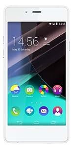 Wiko Highway Pure Smartphone débloqué 4G (Ecran: 4,8 pouces - 16 Go - Simple Nano SIM - Android 4.4 KitKat) Blanc