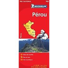 Carte Nationale Pérou - N°763 -echelle 1/1500000