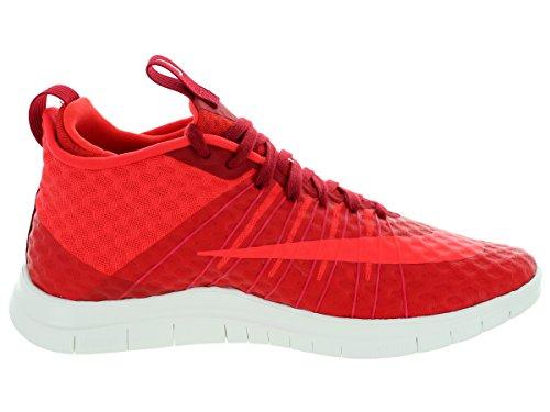 Nike Free Hypervenom 2 Fs, Scarpe da Calcio Uomo, Rosso, 43 EU Rosso/bianco (Gym Red/Lt Crimson-Ivory)