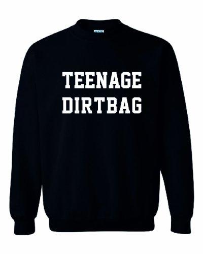 """Sweatshirt/Jumper mit der Aufschrift """"Teenage Dirtbag"""