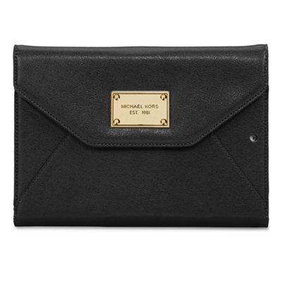 - 414Byx5O3aL - Michael Kors iPad Mini Cover/Clutch Black