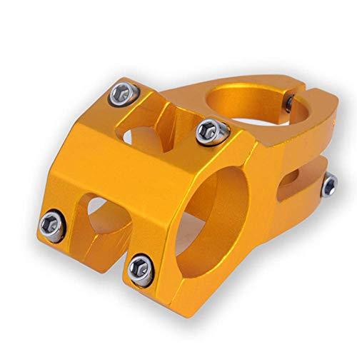 Dastrues de Alta Resistencia 45mm Ligero 31.8mm CNC Mecanizados Potencia para XC Am MTB Bici de Montaña Bicicleta - Dorado