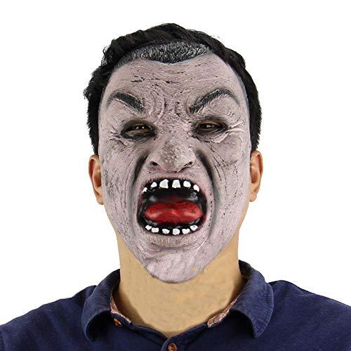 Circlefly Schwarzer Mann lustige Maske Halloween Maskerade verkleiden Sich lustige Maske Erwachsene (Männer Verkleiden Halloween)