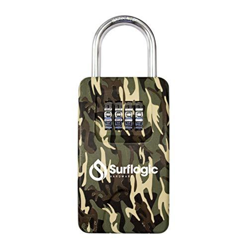 SurfLogic 59148 Candado Guarda Llaves, Adultos Unisex, Camuflaje, XL