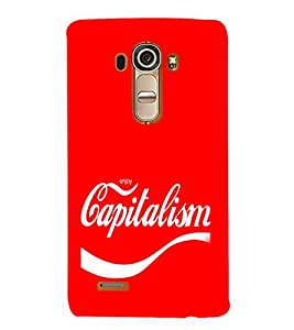 EPICCASE Capitalism Mobile Back Case Cover For LG G4 (Designer Case)