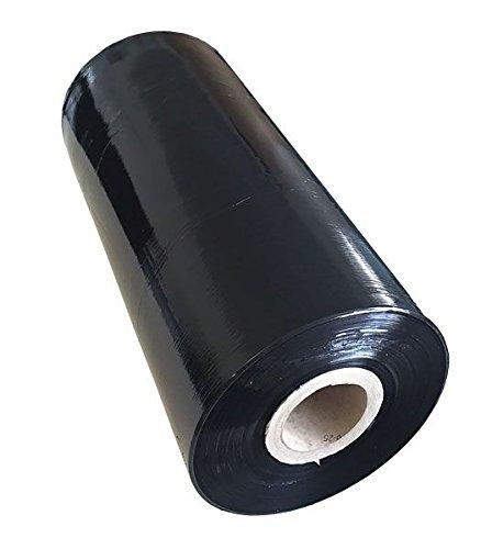 Preisvergleich Produktbild Maschinenstretchfolie 23µ 150% 1550lfm schwarz - activaStretch Power (3 Paletten)