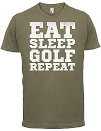 Eat Sleep Golf REPEAT - Herren T-Shirt - 13 Farben