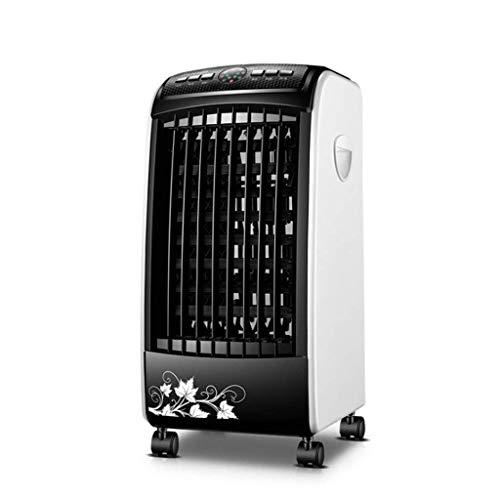 LY88 Verdunstungskühler beweglichem Luftkühler mit Universalrad, mechanischer/Ferngesteuerter Steuerung, leisem, blattlosem Lüfter, 5-l-Wassertank, für Büros geeignet, besonders leiser -