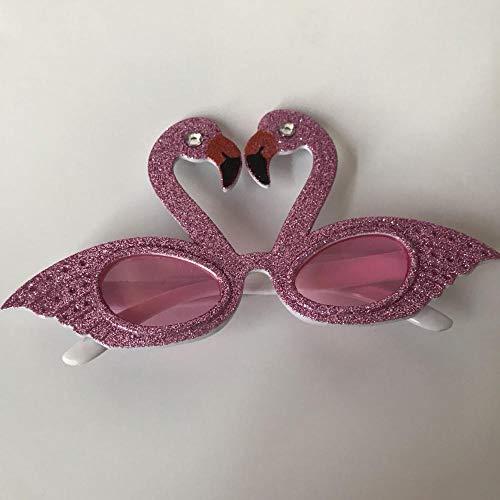 Dekorative Brille Personalisierte süße Flamingo Brille Kreative Bar Requisiten Prom Performance Party Sonnenbrille