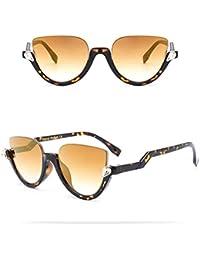 c38e68fbf0 Liangliang Gafas De Sol De Medio Cuadro Ojos De Gato Gafas De Sol Retro  Clásicas Lentes