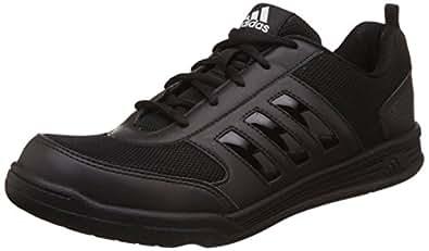 Adidas Unisex Black Formal Shoes - 10 UK/India (44.5 EU)