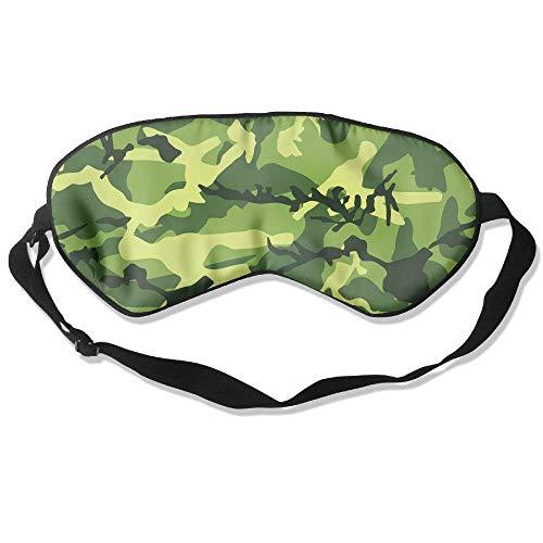 Comfortsoft Camo (Camo Soldier Pattern 99% Eyeshade Blinders Sleeping Eye Patch Eye Mask Blindfold For Travel Insomnia Meditation)