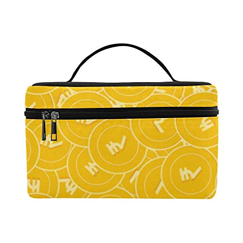 oins Pattern Lunch Box Tote Bag Lunch Holder Isolierte Lunch Cooler Bag für Frauen/Männer/Picknick/Bootfahren/Strand/Angeln/Schule/Arbeit ()
