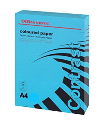 office-depot-a4-intense-blue-coloured-card-160gsm-250-sheets-1-ream
