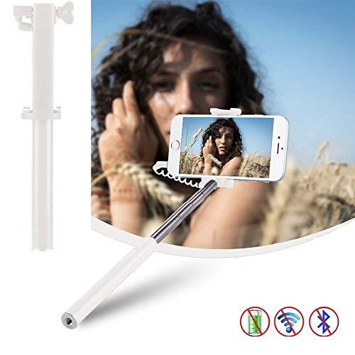 X-Tab Handy Selfie Stick für Timmy M9 Selfie Stange Stick Halterung Smartphone - UStick Weiß