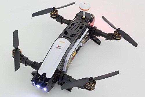 XciteRC 15003850 - FPV Racing Quadrocopter Furious 320 RTF mit Full HD Kamera, Videobrille Goggle V2, GPS, OSD, Akku, Ladegerät und Devo 10 Fernsteuerung, weiß - 13