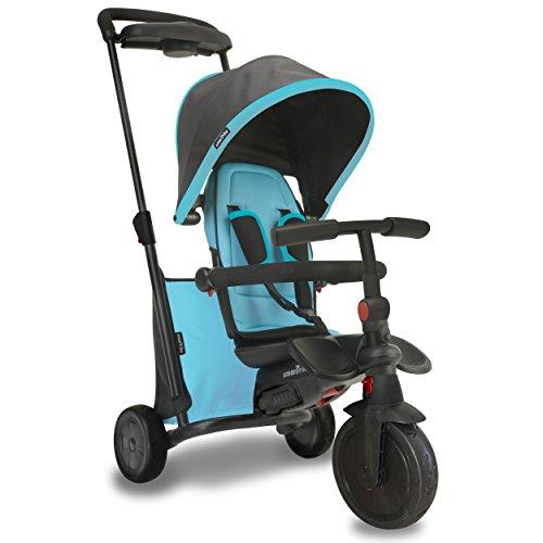 SMARTRIKE - Tricycle Évolutif Pliant Smartfold 500, 505-0800, Bleu