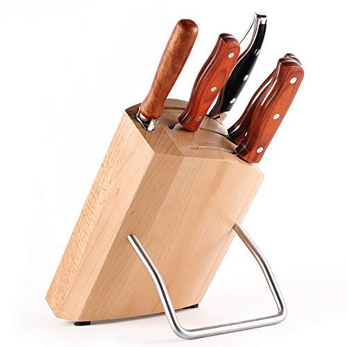 SNOLEK Aufbewahrungssitz Für Haushaltsmesser Aus Holz