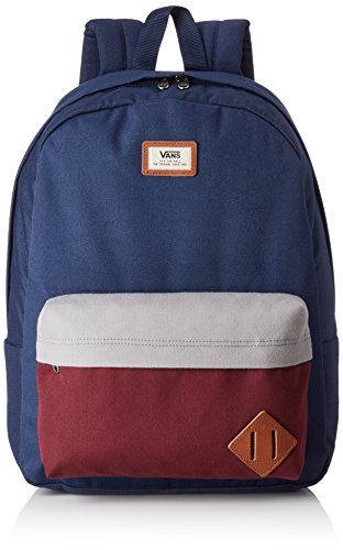 Vans Old Skool Ii Backpack Zaino Casual, 42 Cm, 22 Liters, Grigio (Heather Suiting) Multicolore (Port Royale Col)